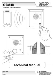 GSM4K Technical Manual on